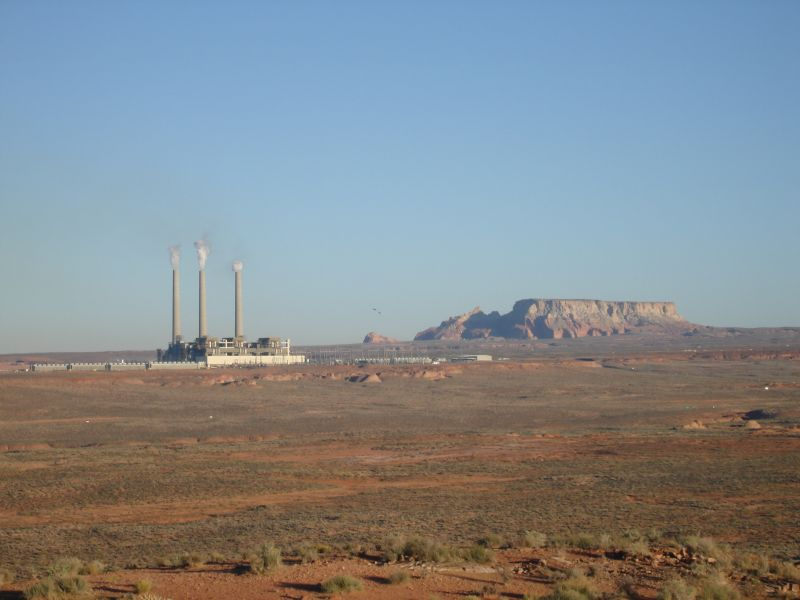 Power Plant Near Page, Arizona