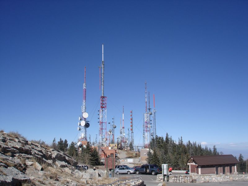 Radio Towers at Sandia Crest